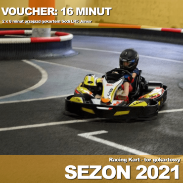 Voucher+ LR5 Junior: 16 minut + karta członkowska + kominiarka